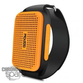 Enceinte bracelet bluetooth pour extérieur- Orange