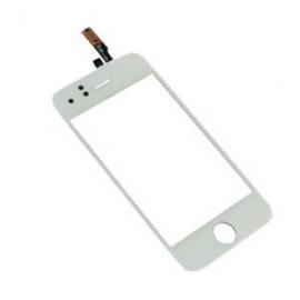 Vitre tactile iPhone 3GS blanche