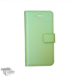 Etui simili-cuir Vert PU à rabat latéral iPhone 6/6s