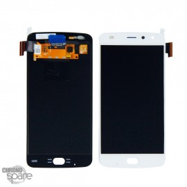 Ecran LCD + vitre tactile Motorola Moto Z2 Play XT1710 Blanc