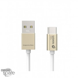 Câble USB Type C Wsken™ 3.0A 10GB/s Or