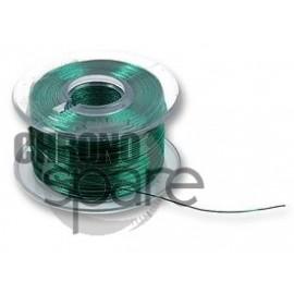 Câble Cuivre émaillé, PU (Polyuréthane), Vert, 38 AWG, 0.018 mm², 38 m