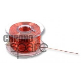 Câble Cuivre émaillé, PU (Polyuréthane), Rose, 32 AWG, 0.029 mm², 27 m