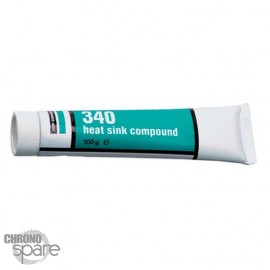 Pâte thermique 340, Tube, 100g, blanc