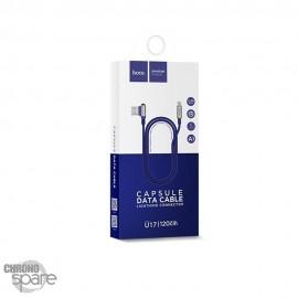 Cable Lightning Hoco U17 Bleu