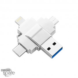 Clé Jumpdrive OTG iPhone / Micro usb / Type C / 3 en 1