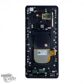 Ecran LCD + vitre tactile Noir Sony Xperia XZ3 (officiel)