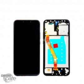 Ecran LCD + Vitre Tactile Huawei Mate 20 Lite bleu - avec châssis