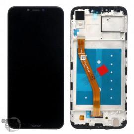 Ecran LCD + Vitre Tactile Noir Honor Play avec chassis