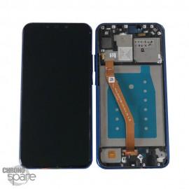 Bloc écran LCD + vitre tactile Huawei P Smart Plus Noir avec chassis