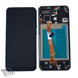 Ecran LCD + Vitre Tactile Honor 10 Noir avec chassis