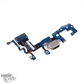 Nappe connecteur de charge + Micro Samsung S9 G960F
