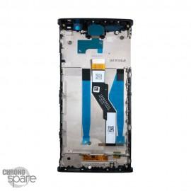 Ecran LCD et Vitre Tactile noire Sony Xperia XA2 Plus (officiel)
