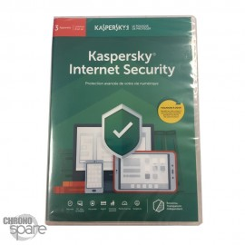 Kapersky Internet Security 2019 3 postes - 1 AN
