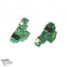 Vitre arriere + lentille emerald green Huawei P smart Z