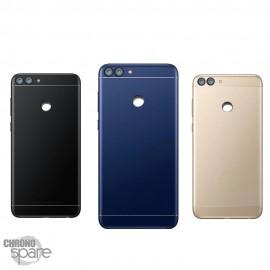 Vitre arrière + lentille caméra bleue Huawei P Smart