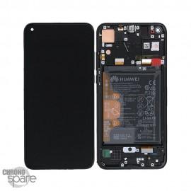 Ecran LCD + Vitre tactile noire Honor 8X (officiel)