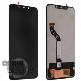 LCD + vitre tactile noire Xiaomi Pocophone F1