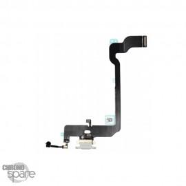 Connecteur de Charge Argent iPhone XS