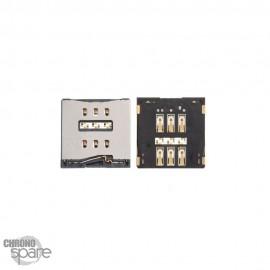 Nappe Connecteur de Charge Argent iPhone XS