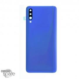 Vitre arrière Bleue avec lentille caméra Samsung Galaxy A70 (A705F)