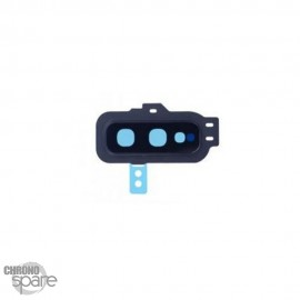Lentille caméra avec châssis noire Samsung S10e