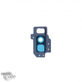 Lentille caméra avec châssis Bleu Samsung Galaxy S9 plus