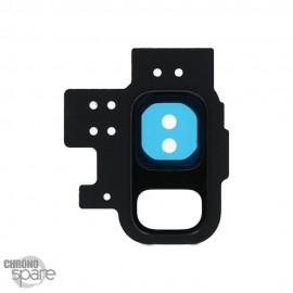 Lentille Caméra avec châssis noir Samsung Galaxy S9 (G960F)