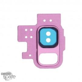 Lentille Caméra avec châssis violet Samsung Galaxy S9 (G960F)