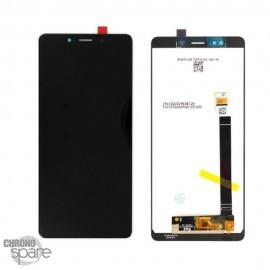 Ecran LCD + vitre tactile noire Sony L3