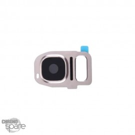 Lentille Caméra avec châssis Or Samsung Galaxy S7/S7 edge