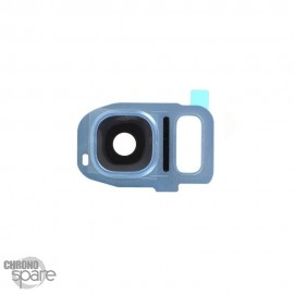 Lentille Caméra avec châssis Blanche Samsung Galaxy S7/S7 edge