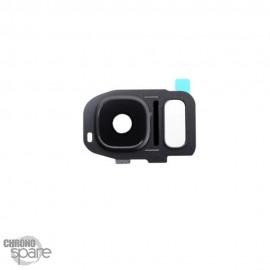 Lentille Caméra avec châssis Noir Samsung Galaxy S7/S7 edge