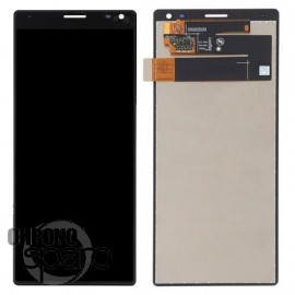 Ecran LCD + vitre tactile Noir Sony Xperia 10 Plus (officiel)