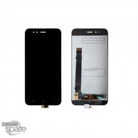 Ecran LCD + vitre tactile sans châssis noir Xiaomi MI A1