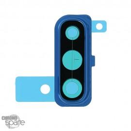 Lentille caméra avec châssis bleu Samsung Galaxy A50