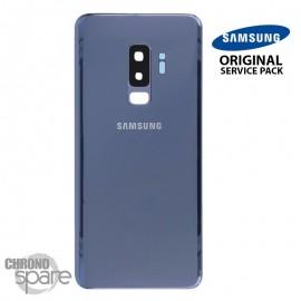 Vitre arrière+vitre caméra bleu (officiel) Samsung Galaxy S9 PLUS G965F