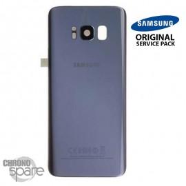 Vitre arrière+vitre caméra Orchidée (officiel) Samsung Galaxy S8 G950F