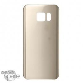Vitre arrière Or Samsung Galaxy S7 Edge G935F