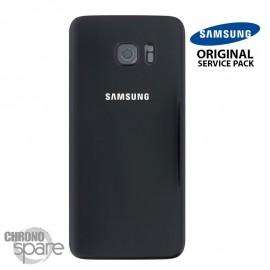 Vitre arrière + vitre caméra Noir (officiel) Samsung Galaxy S7 Edge G935F