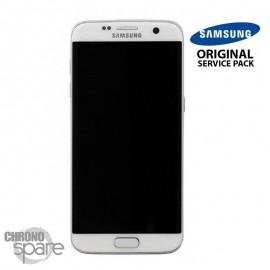 Ecran LCD + Vitre tactile Noire Samsung S7 Edge G935F (officiel) GH97-18533D