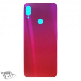Vitre Arrière Rouge avec lentille caméra Xiaomi Redmi Note 7