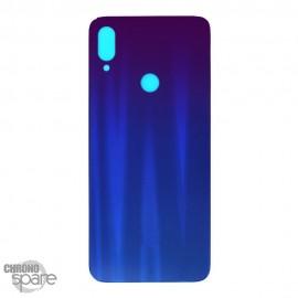 Vitre Arrière Bleue avec lentille caméra Xiaomi Redmi Note 7