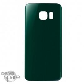 Vitre arrière Samsung S6 Edge G925F Vert