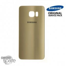 Vitre arrière Samsung S6 edge G925F or (officiel)