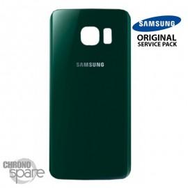Vitre arrière Samsung S6 edge G925F vert (officiel)