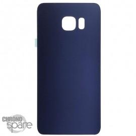 Vitre arrière Samsung S6 Bleu