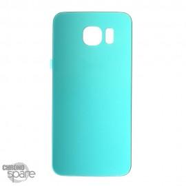 Vitre arrière Samsung Galaxy S6 G920F Bleu Turquoise