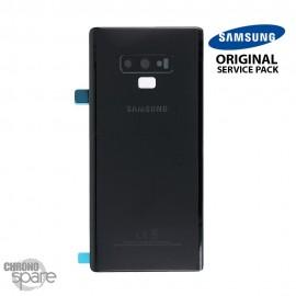 Vitre arrière Galaxy Note 9 SM-N960 (officiel) - Noir