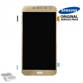 Ecran LCD + Vitre tactile Or Samsung J4 J400F (officiel)